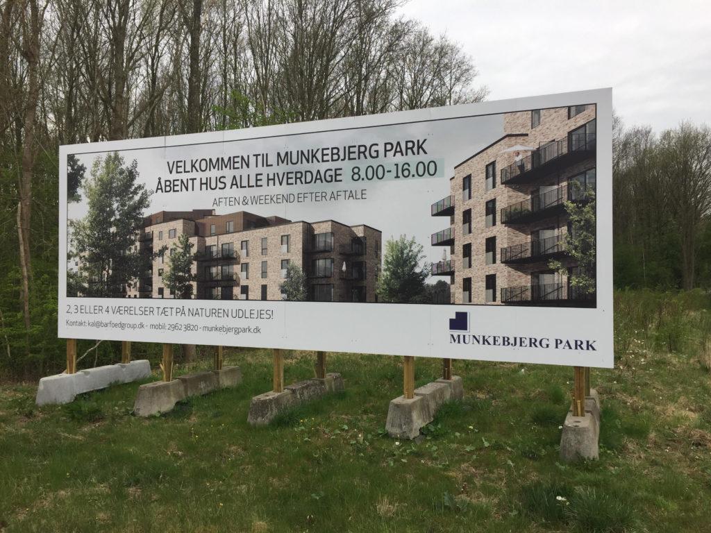 byggeskilte - munkebjerg park elh skilte